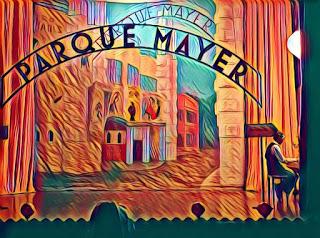 El Parque Mayer es un recinto lleno de historia que agrupa varios teatros.